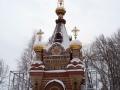 Часовня-усыпальница Паскевичей. Январь 2009