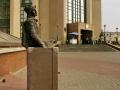 Скульптура «Чемоданное настроение» в Гомеле