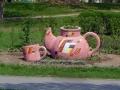Скульптурная композиция «Цветочный чай» в Гомеле