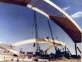 Строительство легкоатлетического манежа Динамо. 1981 год.