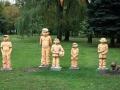 Скульптурная композиция «Дворовая команда» в Гомеле