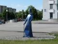 Скульптура «Джентельмен» в Гомеле