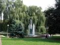 Фонтан в сквере на Билецкого. Фото: balykvlad. Июль 2009.