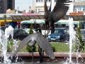 Фонтан «Буслы» на привокзальной площади. Фото: nadin_br.