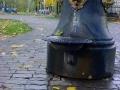 Фонтаны в парке. Октябрь 2002.