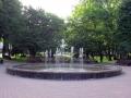 Фонтаны в парке.