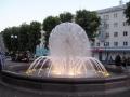 Фонтан на площади Победы.