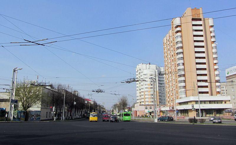 Улица Интернациональная, апрель 2013, фото agiss