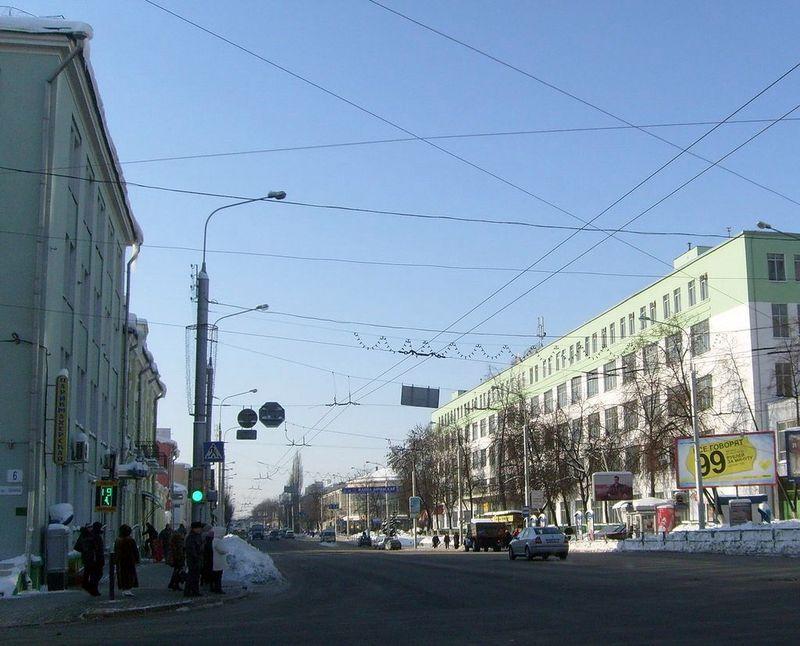 Улица Интернациональная, февраль 2013, фото agiss