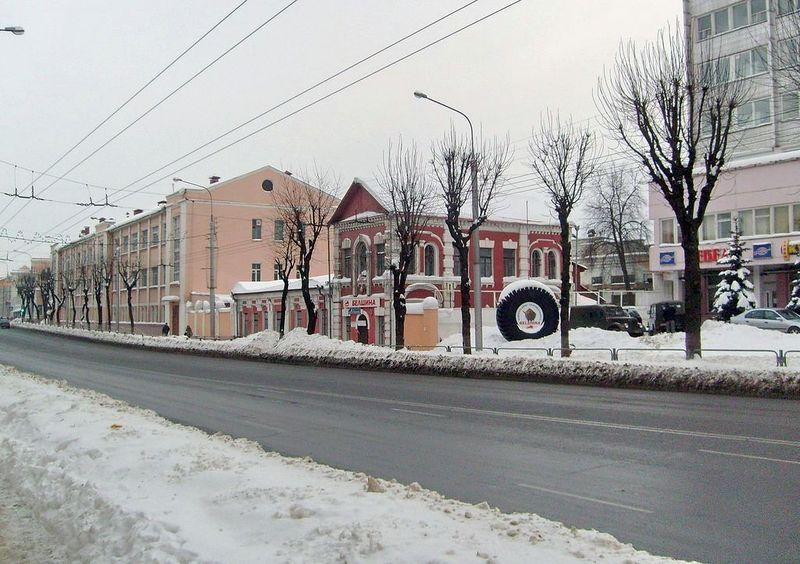 Улица Интернациональная, февраль 2012, фото agiss