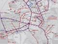 Схема маршрутов общественного транпорта