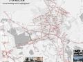 Гомель, схема автобусных маршрутов