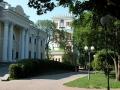 Аллеи парка Гомельского дворцово-паркового ансамбля, июль 2003