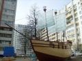 Скульптура «Парусник» в Гомеле