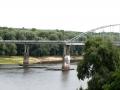 Пешеходный мост через Сож, фото nadin_br