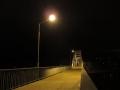 Пешеходный мост через Сож, ноябрь 2012, фото agiss
