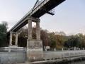 Пешеходный мост через Сож, октябрь 2013, фото agiss