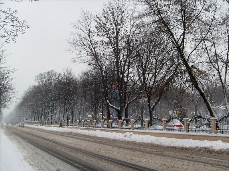 Улица Пролетарская, январь 2012, фото agiss