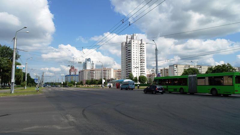 Проспект Речицкий, фото zombie
