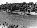 Вид на реку Сож и дворцовый парк 1970–1975