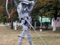 Скульптурная группа «Робовоины», фото Михаил Гут