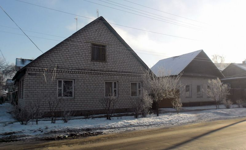 Улица Сенная, 22, декабрь 2011, фото agiss