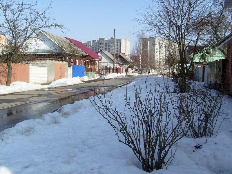Улица Сенная, март 2012, фото agiss