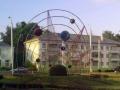 Скульптура «Солнечная система» в Гомеле
