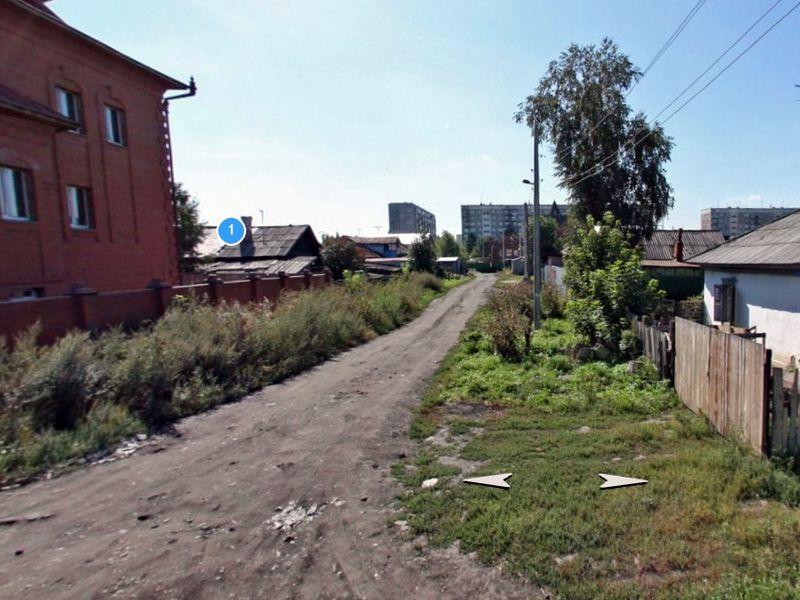 Улица Гомельская в Новосибирске, фото Карты Яндекс