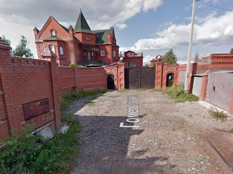 Улица Гомельская в Новосибирске, 2012, фото Карты Google