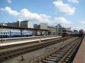Железнодорожный вокзал. Фото white
