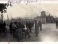 Уличная торговля на Привокзальной площади. 1918