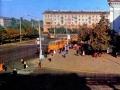 Привокзальная площадь. Вид со здания вокзала. 1984