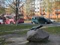 Скульптура «Ящерица на камне», фото balykvlad
