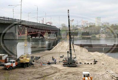 В Гомеле начато строительство второй нитки моста через Сож