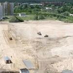 В Советском районе Гомеля началось строительство первого на Гомельщине гипермаркета