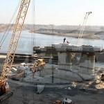 В Гомеле идет строительство нового автомобильного моста
