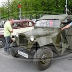 Пробег на ретроавтомобилях проследовал через Гомель