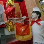 Советский район Гомеля отметил свое 40-летие в духе СССР