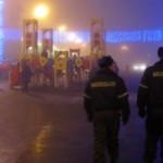 Несмотря на отмену гуляний, гомельчане вышли на улицы в новогоднюю ночь