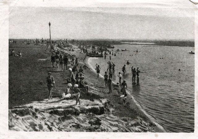 Гомельский пляж, 30-е годы