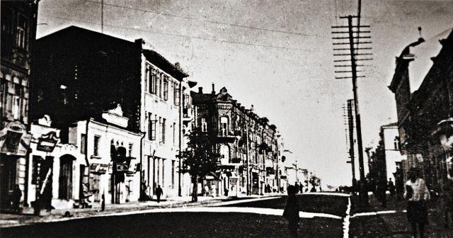Начало ул. Советская. Фото 1930-х.
