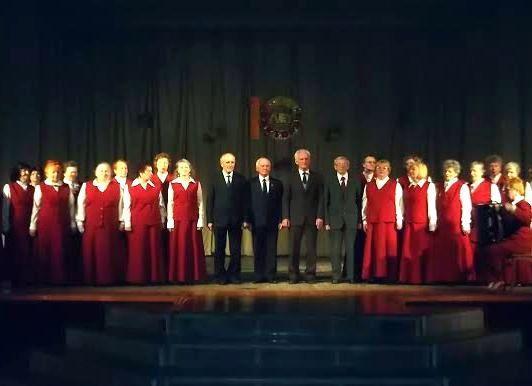 10 лет хору «Виктория»