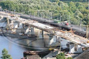 Строительство моста через Сож в Гомеле должно быть завершено в ноябре текущего года