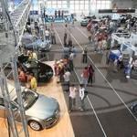 Автомобильная выставка открылась в Гомеле