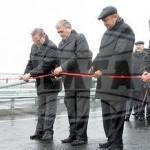 Новый автомобильный мост через Сож открылся в Гомеле