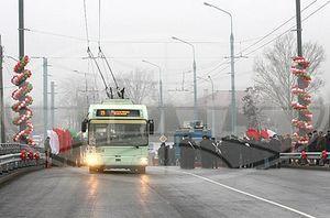 В Гомеле после реконструкции открылся Полесский путепровод