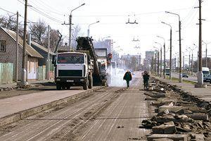 Улицу Барыкина расширят до шести полос к концу ноября