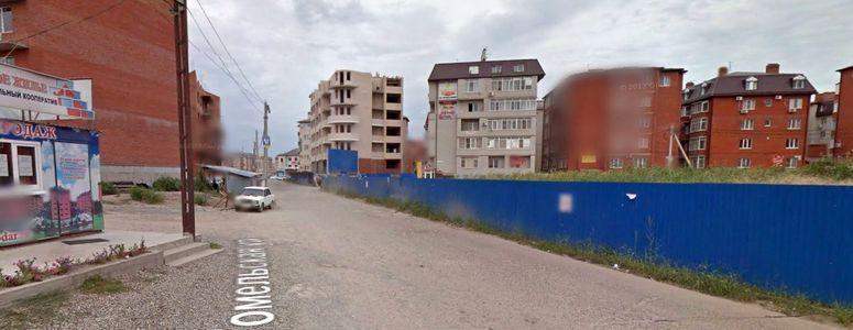 Улица Гомельская в Краснодаре