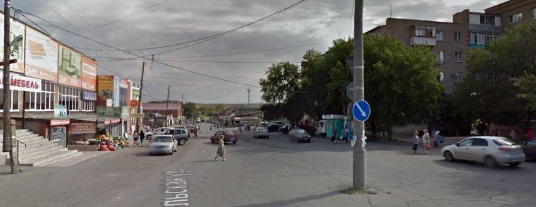 Улица Гомельская в Орске